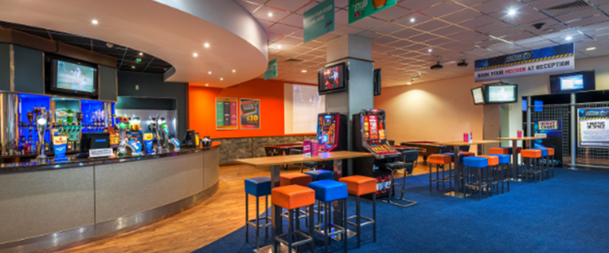 Camberley Bar & Seating Area