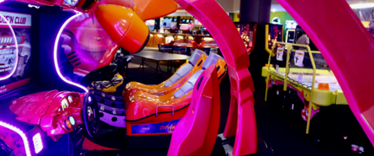 Warrington Arcade Racing Game