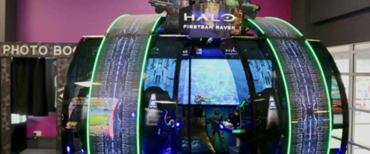 Coventry Arcade Halo Game