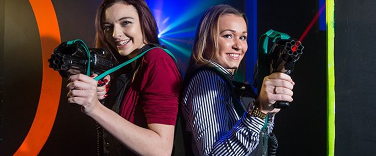 Gallery Laser Tag Ladies
