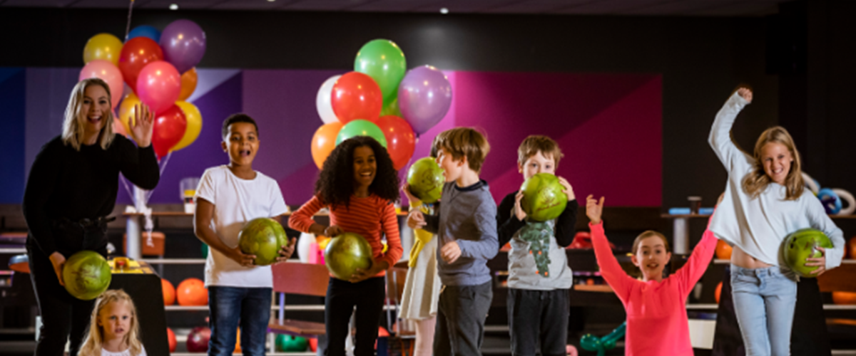 Gallery Parties Bowling Together